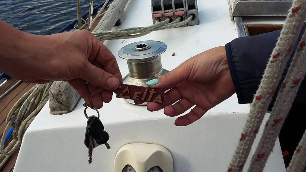 Яхта DELTA нашла нового капитана.