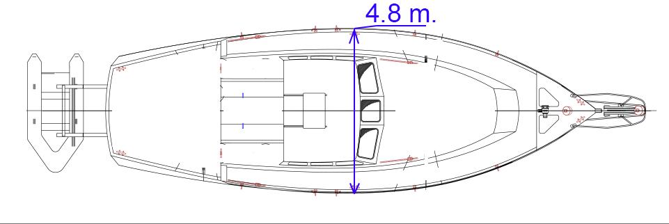 Проект лодки для жизни под парусом