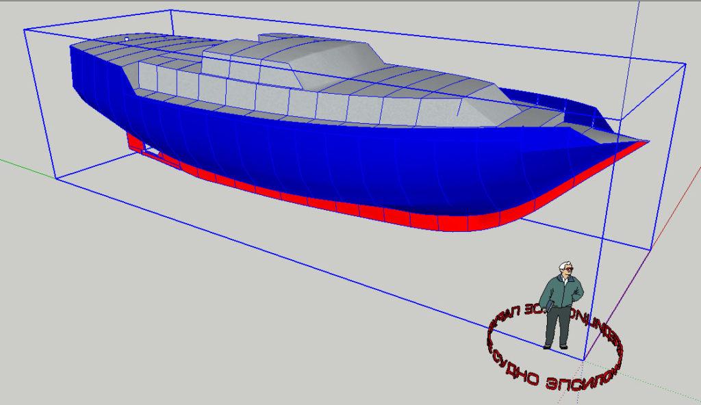 Эпсилон 49. 3D модель.